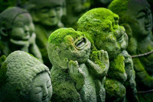京都 愛宕念仏寺の羅漢像